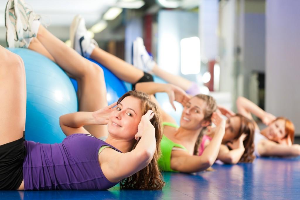 lezione di ginnastica posturale